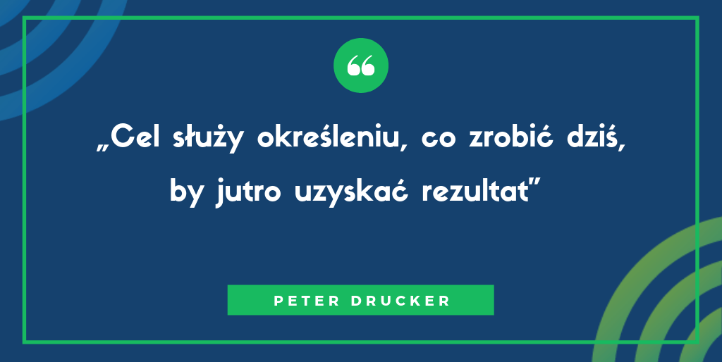 Peter Drucker - cele smart w sprzedaży