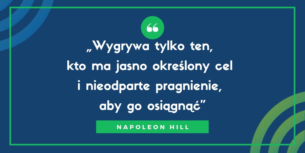 cytat Napoleon Hill