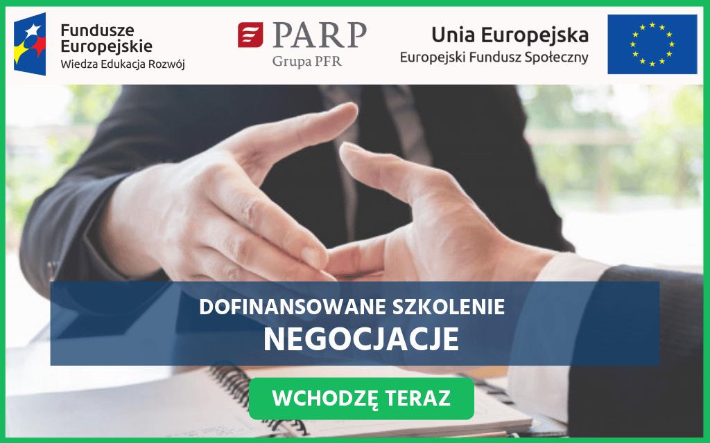Szkolenie dofinansowane - Negocjacje