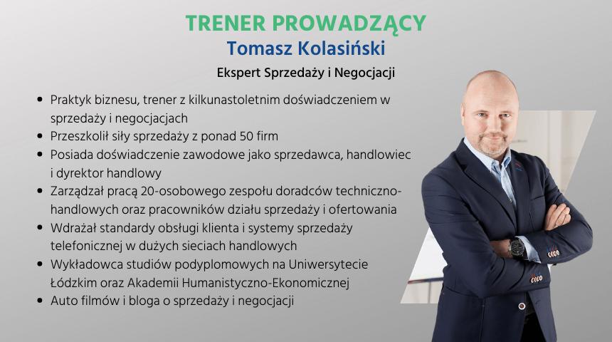 Tomasz Kolasiński - trener - BUR