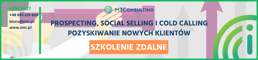 Prospecting, Social Selling i Cold Calling - szkolenie onlie