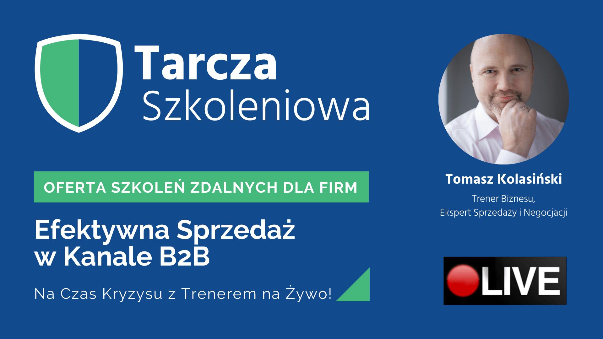 Tarcza szkoleniowa - Tomasz Kolasiński